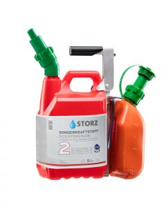 Kombitragesystem für 5 Liter Kanister Storz